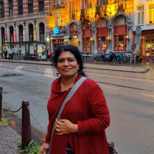 KP Sudheera visited ten European countries in July 2019 and she was awarded Miss Aipc Europe ,2019. (Aipc-  AlI India potess conference)